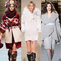 В'язане пальто для романтичних дівчат