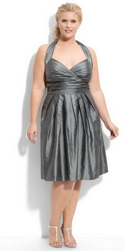 Вечірні плаття для повних 2011