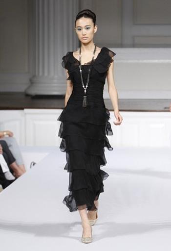 Красивые вечерние платья на выпускной 2012 - 250 фото: Выбираем модные.