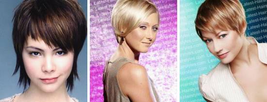 Короткі зачіски - кращих короткі стрижки!