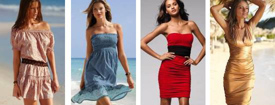 Модні літні платья 2011