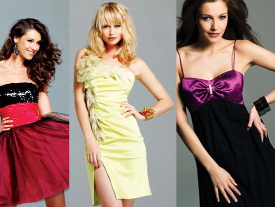 Вечірні короткі сукні
