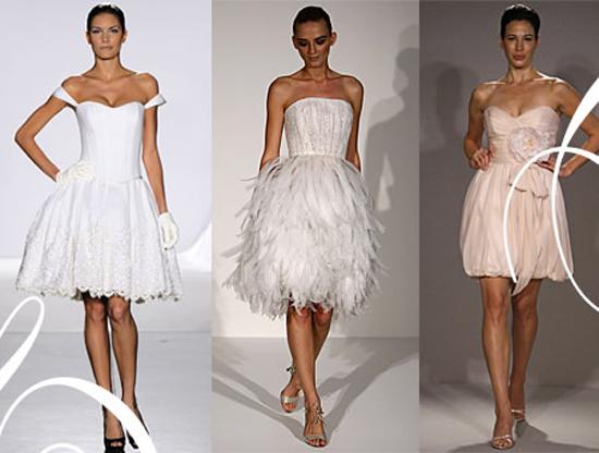 Короткі весільні сукні 2011 – Любов + Мода 3487f4a35bbaa