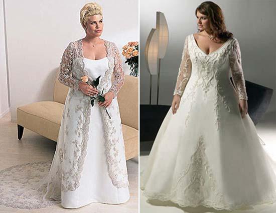 Весільні сукні для повних 2011 – Любов + Мода 7ccbf07910125