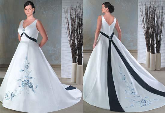 8c8ff1d0fdda29 Весільні сукні для повних 2011 – Любов + Мода, біжутерія, випускні ...