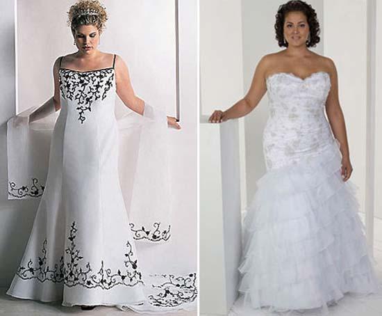 Весільні сукні для повних фото