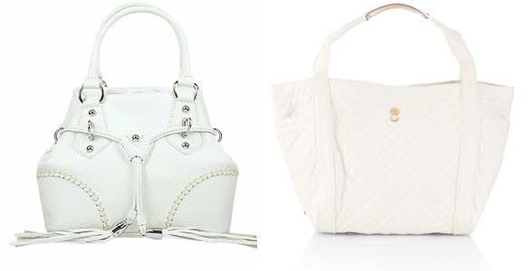 Білі сумки - ідеальний варіант для літа