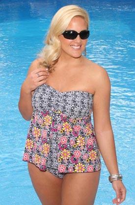 Модні купальники для повних 2011