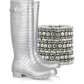 Модні гумові чоботи 2011