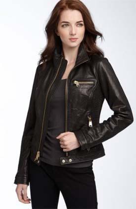 Шкіряні жіночі куртки  модні тенденції осені 2011 – Любов + Мода ... a1ead4c5a8538
