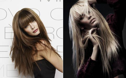 Модні стрижки 2012 відео