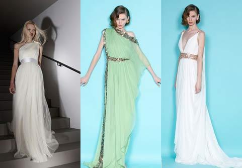 Модні сукні 2012 актуальні кольори