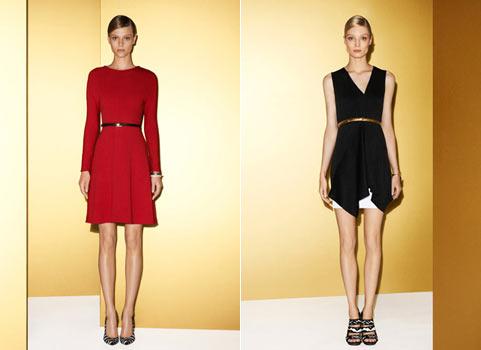 Модні сукні 2012
