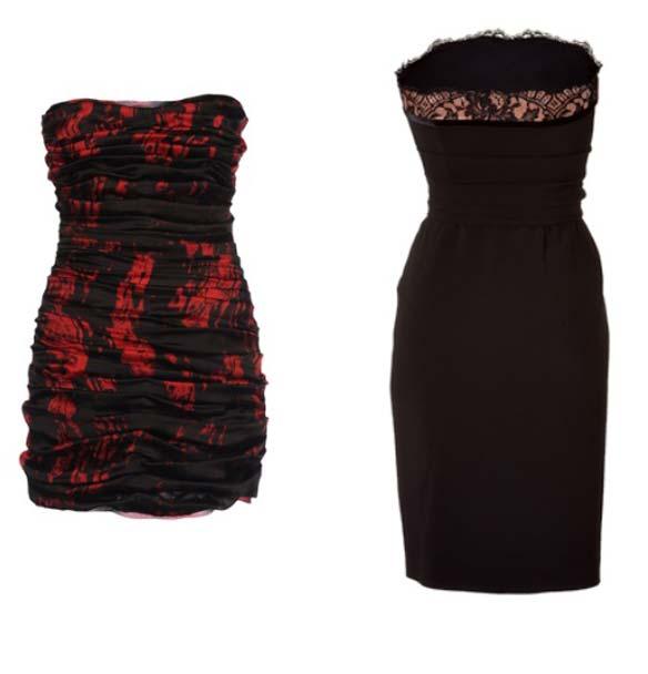На модній сукні на випускний 2012 з