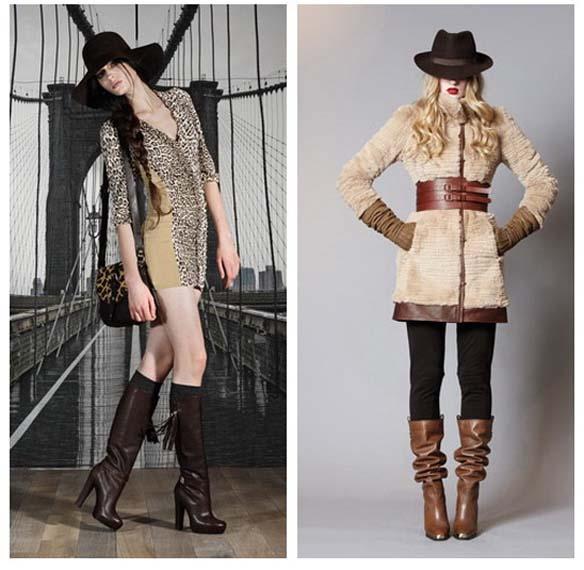 Жіночі чоботи осінь-зима 2011-2012