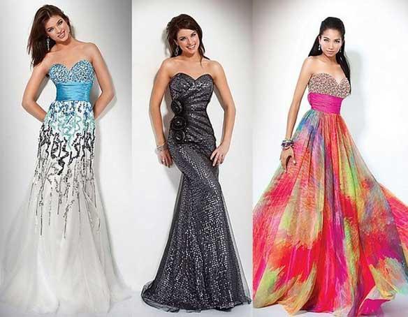 Модные вечерние платья 2012 года.  Автор:Admin.