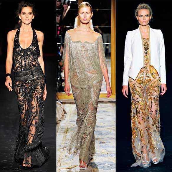 Модные Платья Вечерние 2012