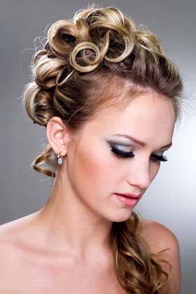 Весільні зачіски 2012 відео