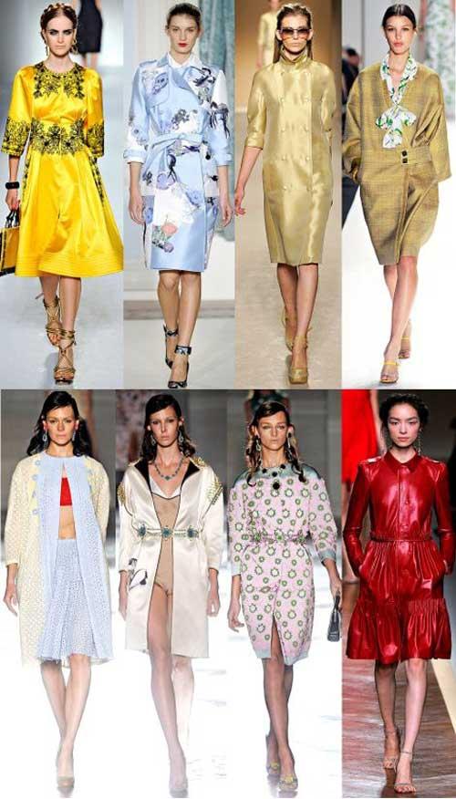 Модні весняні пальта 2012 фото