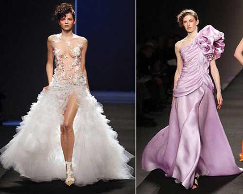 Дизайнерські весільні сукні 2012 відео