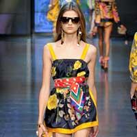 Модні кольори весна-літо 2012