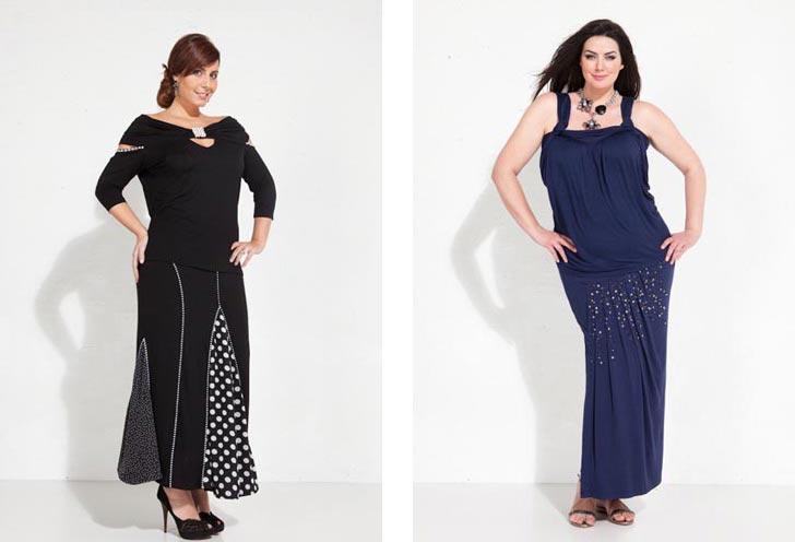 Мода для повних весна літо 2012