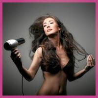 Як випрямити волосся за допомогою фена