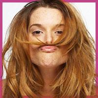 Як позбутися від волосків над губами