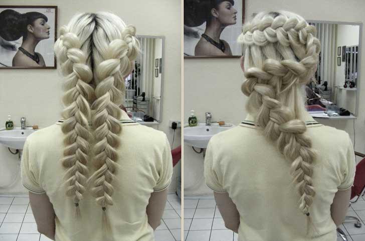 Модні зачіски для подружок нареченої 2013