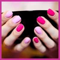 Різнокольоровий манікюр - модний тренд 2012 року