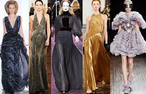 Модні вечірні сукні осінь зима 2012 2013