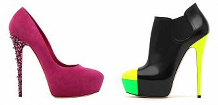 Модные туфли в картинках