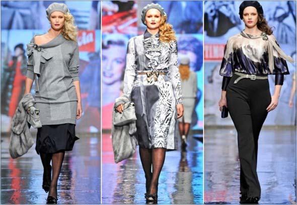 Мода для повних жінок осінь-зима 2012-2013