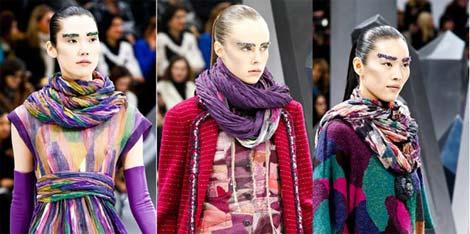Наймодніші шарфи осінь-зима 2012-2013