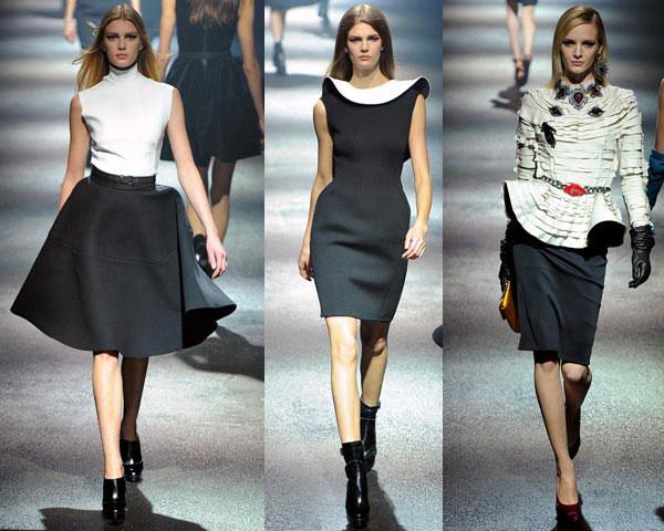 Стильні сукні осінь-зима 2012-2013