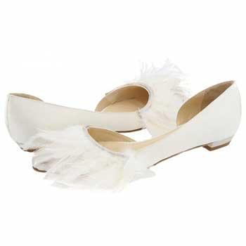 Весільні балетки: пропозиції дизайнерів на весілля