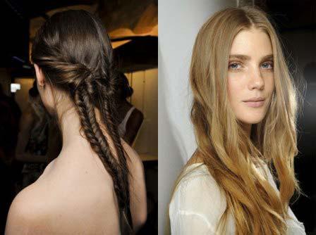 Модні жіночі зачіски осінь-зима 2012-2013 фото
