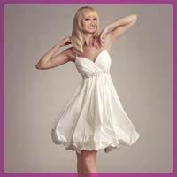 Колір і довжина весільної сукні