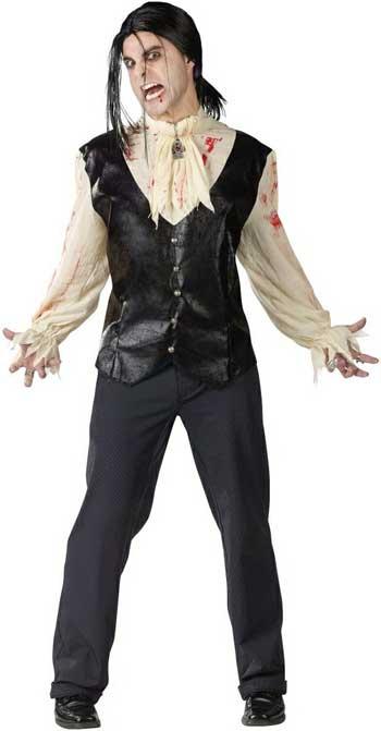 Костюм вампира на хэллоуин фото