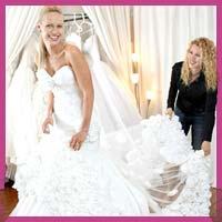 Як міряти весільну сукню?
