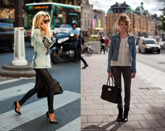 З чим носити джинсову куртку (фото)