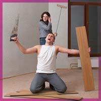 Як пережити ремонт з коханим чоловіком