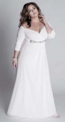 cad4343e02f3db Весільні сукні для повних – Любов + Мода, біжутерія, випускні сукні ...