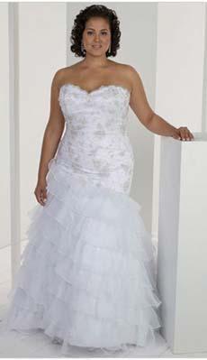 Весільні сукні для повних – Любов + Мода 9ca54773f7335
