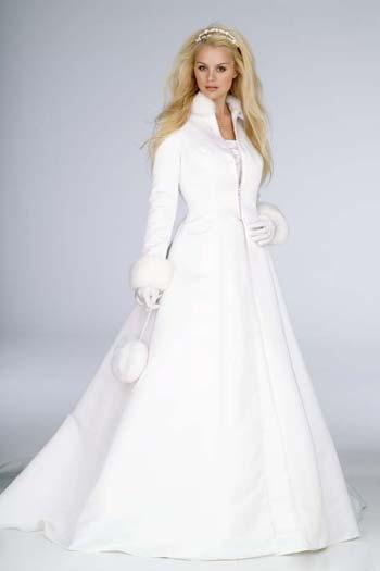 Весільні сукні для зими 2012-2013