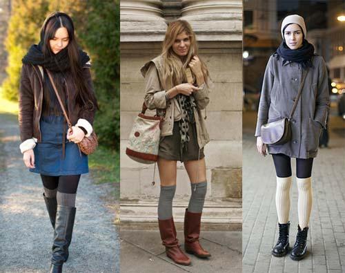 З чим носити модні гольфи осінь-зима 2012-2013