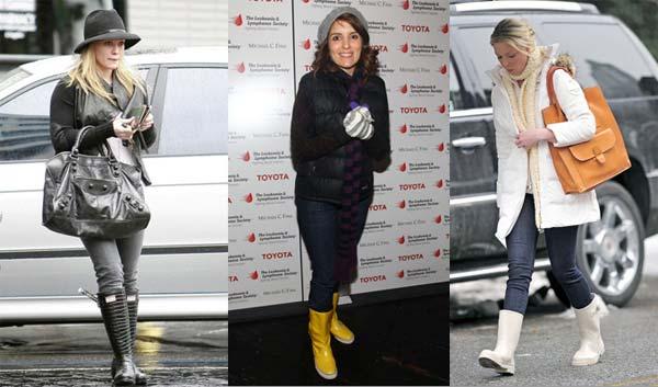 Гумові чоботи 2013: як вибрати і з чим носити