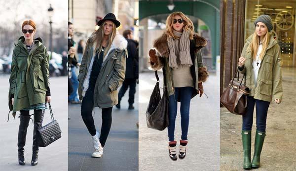 З чим носити модні куртки зими 2013 (фото)