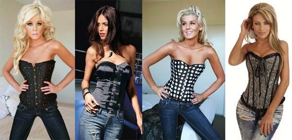 З чим носити модні жіночі корсети 2013
