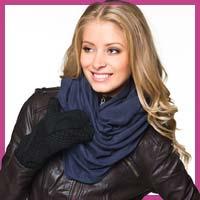Модні жіночі рукавички зима 2013 фото